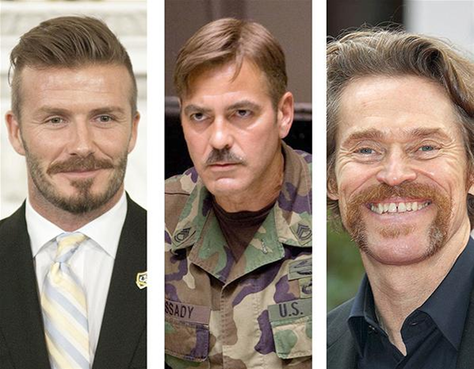 Different mustache styles for Movember - Business Insider